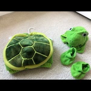 Infant Turtle Halloween costume